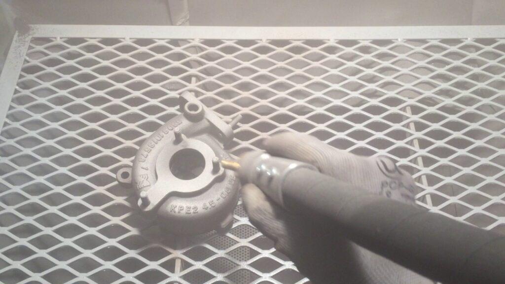 Cerakote - Sand Blasting